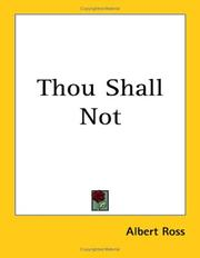 Thou Shall Not PDF