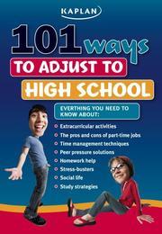101 Ways to Adjust to High School PDF