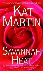 Savannah heat by Kat Martin