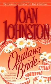 Cover of: Outlaw&#39;s bride by Joan Johnston