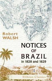 Notices of Brazil in 1828 and 1829 PDF