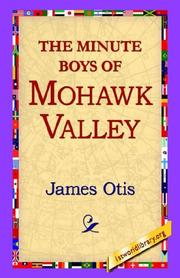 The Minute Boys of Mohawk Valley PDF
