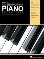 Contemporary Piano Repertoire - Level 1 PDF