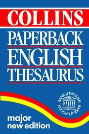 Collins English reference library : dictionary and thesaurus