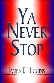 Ya Never Stop PDF