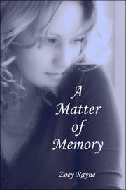 A Matter of Memory