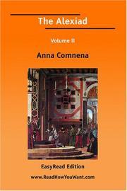 The Alexiad Volume II PDF