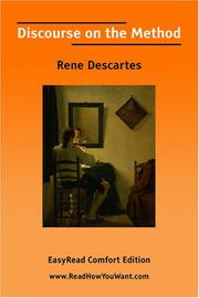 Discourse on the method by Ren Descartes