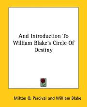And Introduction To William Blake's Circle Of Destiny PDF