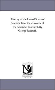 History of the United States of America PDF