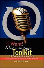 I Want! A Communication ToolKit PDF