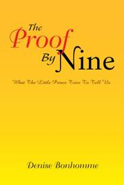The Proof By Nine PDF