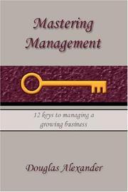 Mastering Management PDF