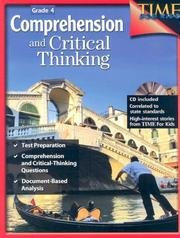 Comprehension and Critical Thinking Grade 4 (Time for Kids)