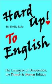 Hard Up To English PDF