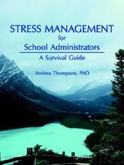 Stress Management for School Administrators PDF