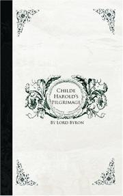 Childe Harold's pilgrimage PDF