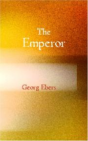 The Emperor by Georg Ebers
