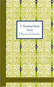 T. Haviland Hicks Senior PDF