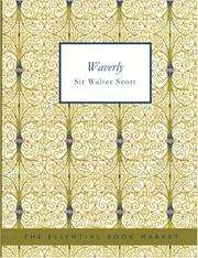 Cover of: Waverley (Large Print Edition) by Sir Walter Scott