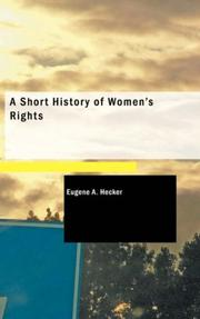 A Short History of Women's Rights PDF
