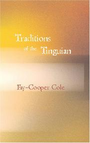 Traditions of the Tinguian by Fay-Cooper Cole