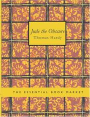 Cover of: Jude the Obscure (Large Print Edition) by Thomas Hardy