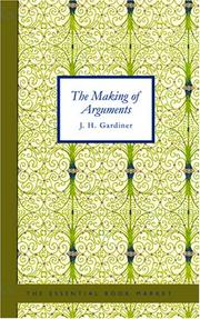 The Making of Arguments PDF