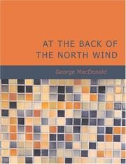 Cover of: At the Back of the North Wind (Large Print Edition) by George MacDonald