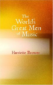 The World's Great Men of Music PDF
