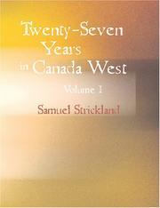 Twenty-Seven Years in Canada West Volume I PDF