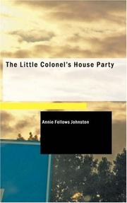 The Little Colonel's House Party PDF