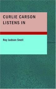 Curlie Carson Listens In PDF