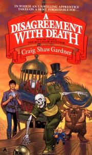 Cover of: A Disagreement with Death by Craig Shaw Gardner