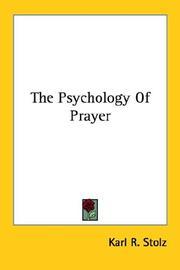 The Psychology Of Prayer PDF
