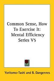 Common Sense How To Exercise It PDF