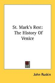 St. Mark&#39;s rest by John Ruskin