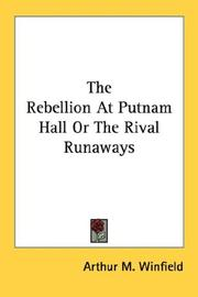 The Rebellion At Putnam Hall Or The Rival Runaways PDF