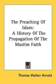 The Preaching Of Islam PDF