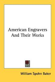 American Engravers And Their Works PDF
