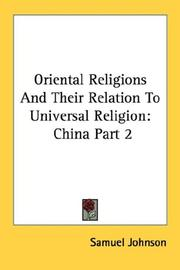 Oriental Religions And Their Relation To Universal Religion PDF