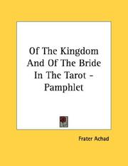 Of The Kingdom And Of The Bride In The Tarot - Pamphlet PDF