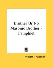 Brother Or No Masonic Brother - Pamphlet PDF