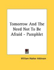 Tomorrow And The Need Not To Be Afraid - Pamphlet PDF