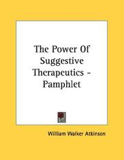 The Power Of Suggestive Therapeutics - Pamphlet PDF