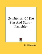 Symbolism Of The Sun And Stars - Pamphlet PDF