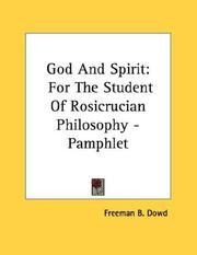 God And Spirit PDF