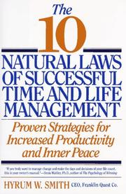 The 10 natural laws of successful time and life management PDF