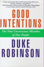 Good intentions by Duke Robinson