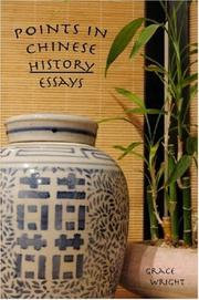 Points in Chinese History -- Essays PDF